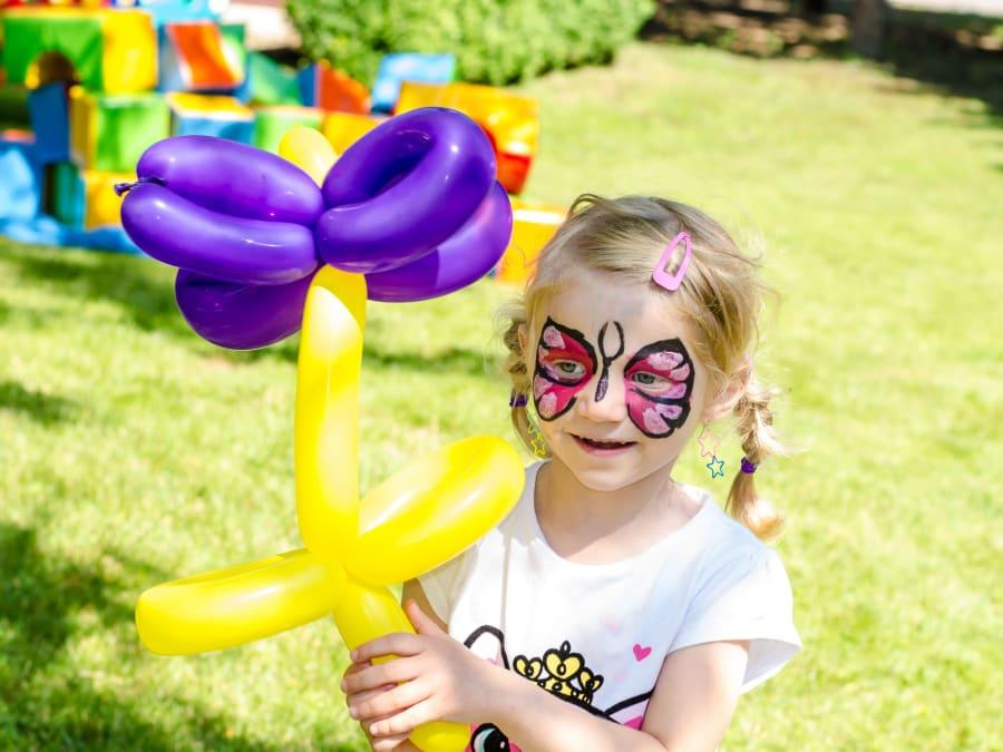 Spectacle de Cirque & Sculpture sur ballons pour enfants