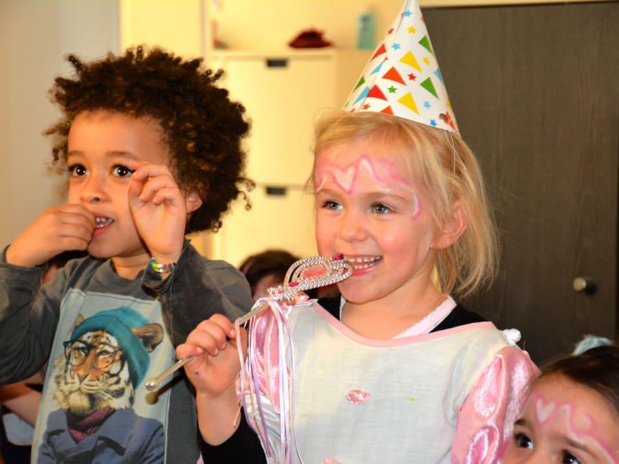 Anniversaire Princesse 3-8 ans à domicile (IDF)