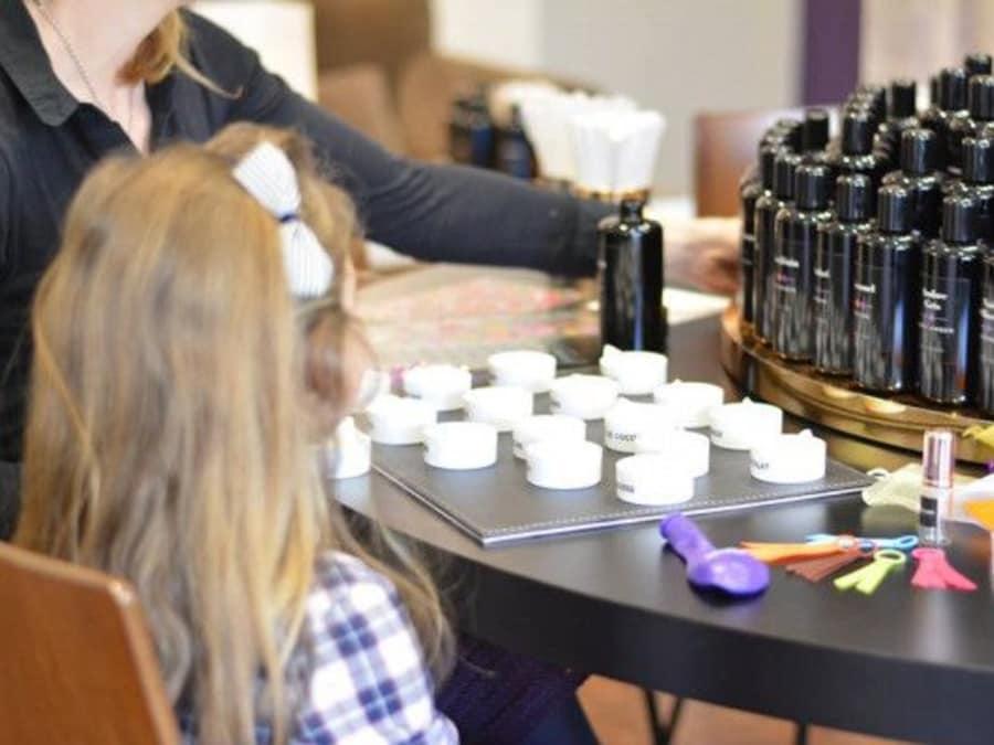 Anniversaire Création de Parfum pour les 4-10 ans à Nice
