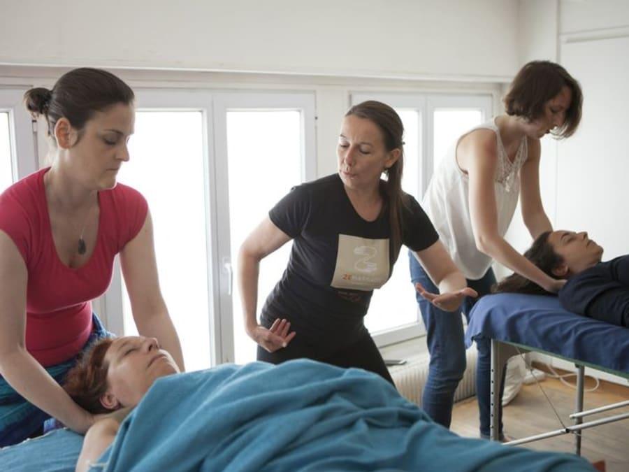 Atelier apprentissage du massage dos