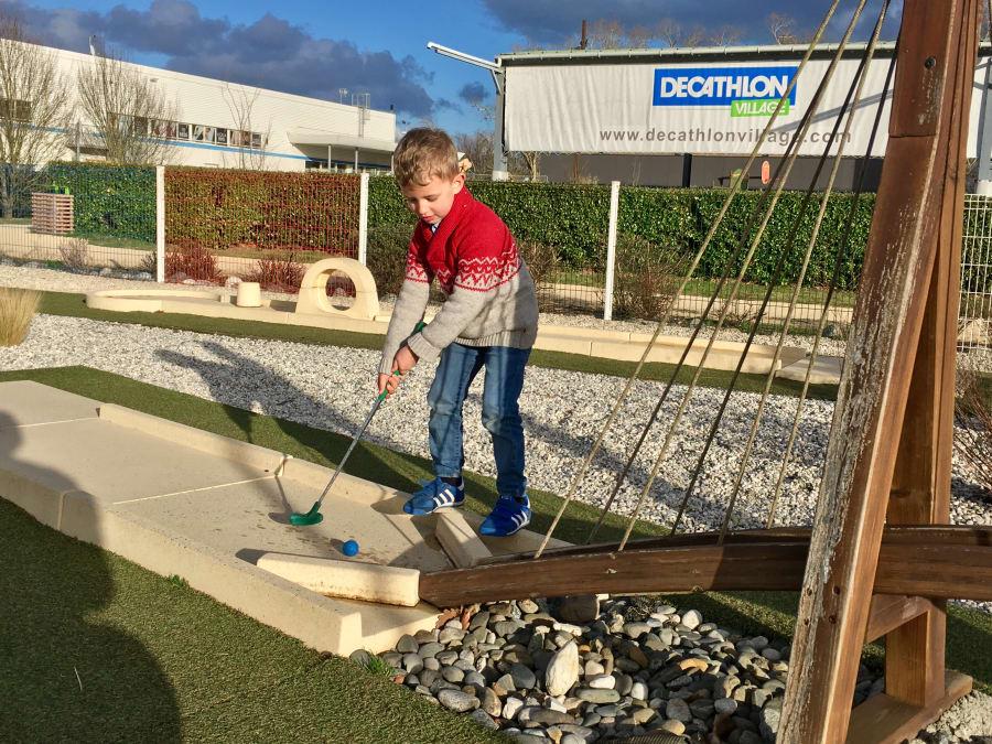 Anniversaire Mini-golf 5-15 ans à Mérignac (33)