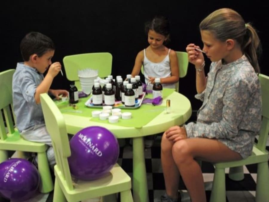 Anniversaire Création de Parfum pour les 4-10 ans à Grasse (06)