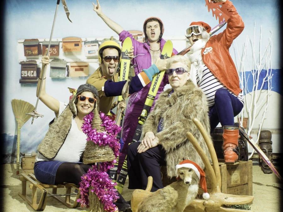 Séance photo de famille fun et insolite à Lyon (69)