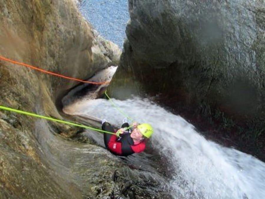 Canyoning au Gourg des Annelles  (Pyrénées Orientales, 66)