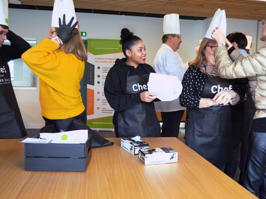 Team Building cuisine animé par un Grand Chef
