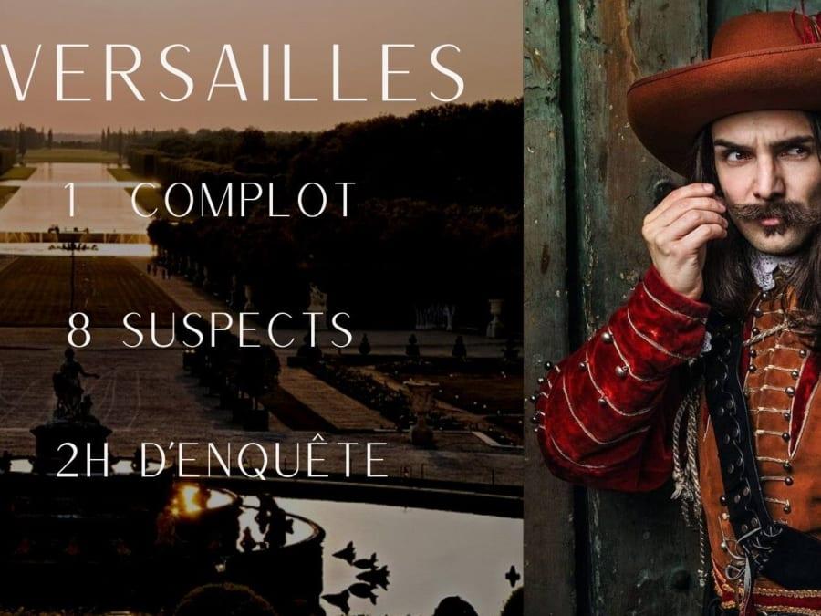 2H pour sauver le roy au château de Versailles (78)