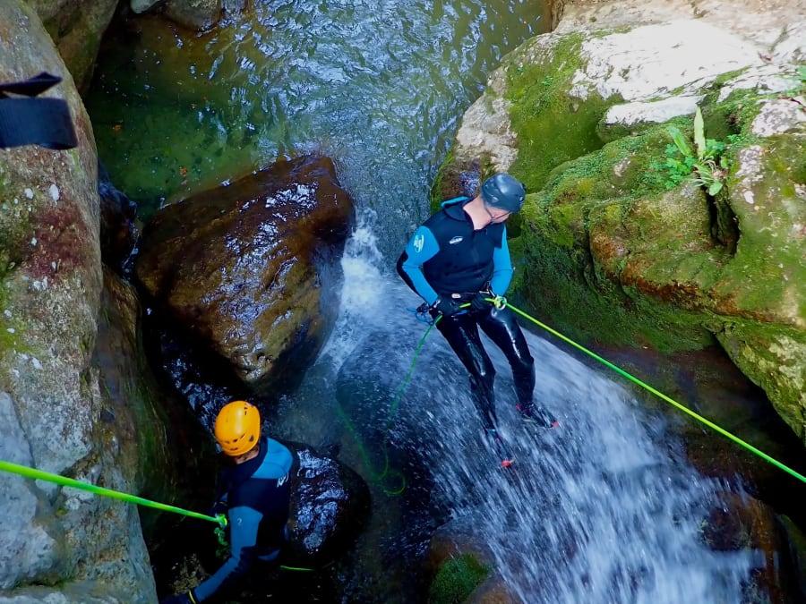Canyoning proche de Grenoble : canyon du Versoud et du Furon