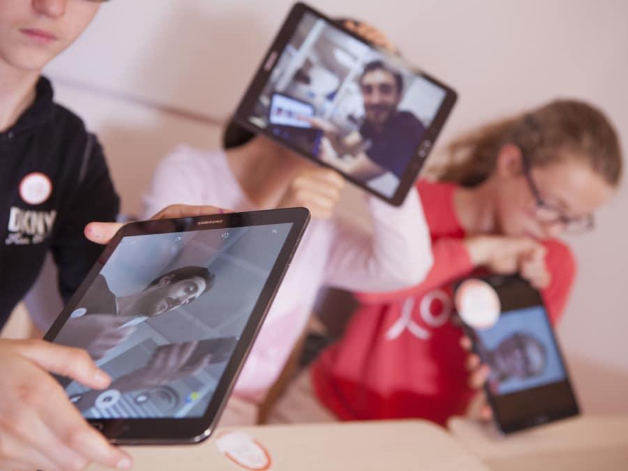Stage numérique créer son App mobile 11-12 ans à Vincennes