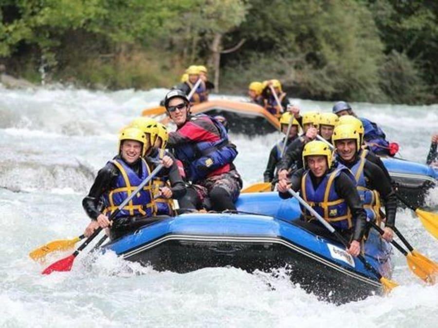 Descente en Rafting à Aime, Savoie (73)