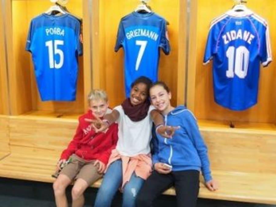 Anniversaire dans les Coulisses du Stade de France 7-14 ans