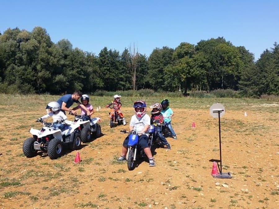 Stage Pilotage moto-cross/quad 6-16 ans à Dole (39)