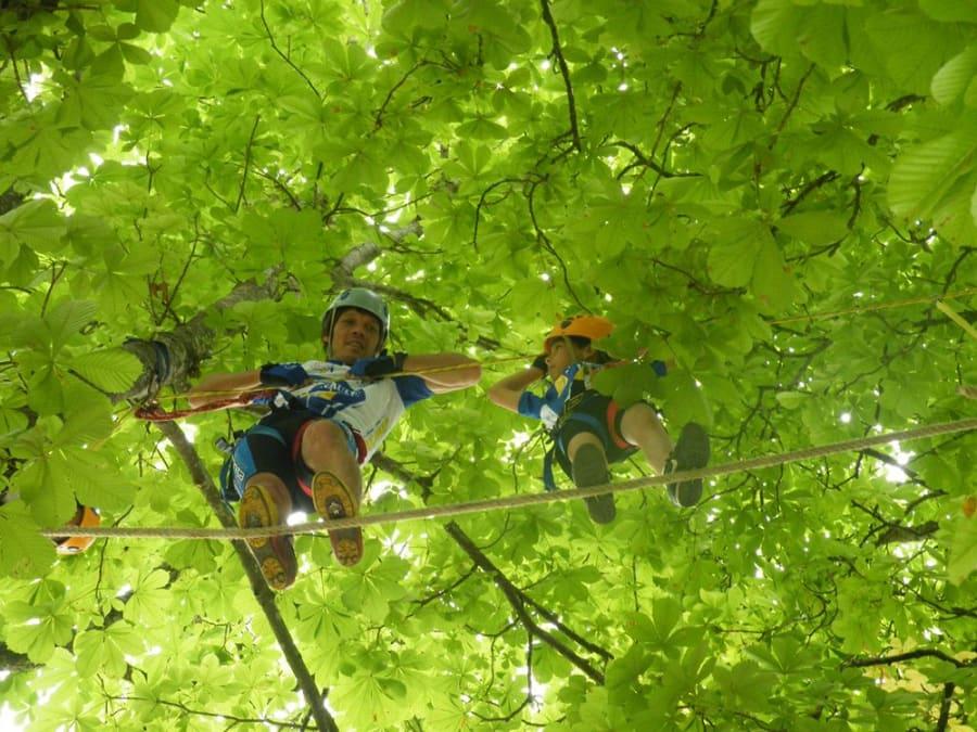 Parc aventure Accrobranche à Taizé (Charente, 16)