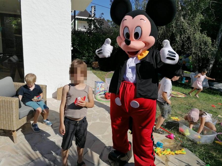 Anniversaire Show de Mascotte Mickey en Ile-de-France