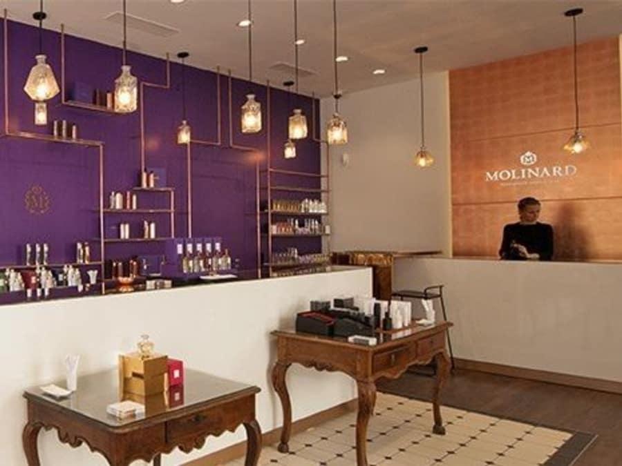 Atelier réalisation de Parfum par Molinard à Nice