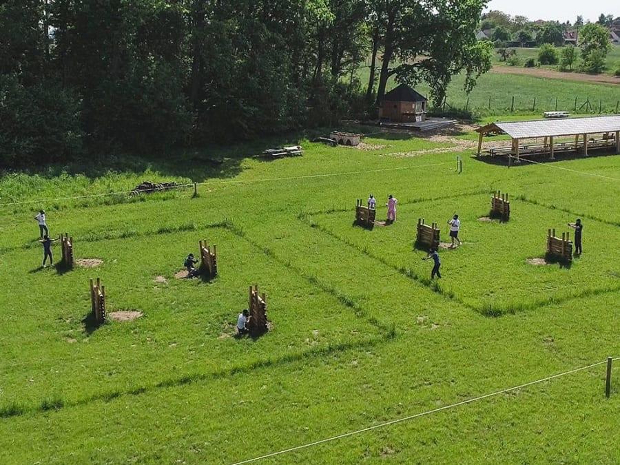 Anniversaire Archery Battle 10-16 ans à Chenoise (77)