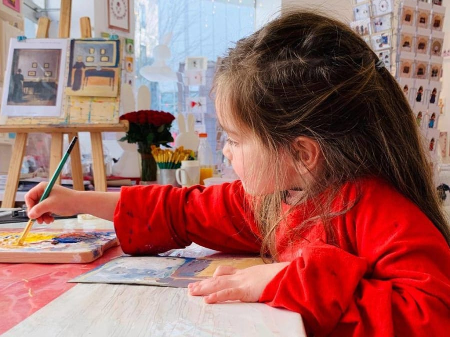 Anniversaire Peinture 4-14 ans à Paris 12ème