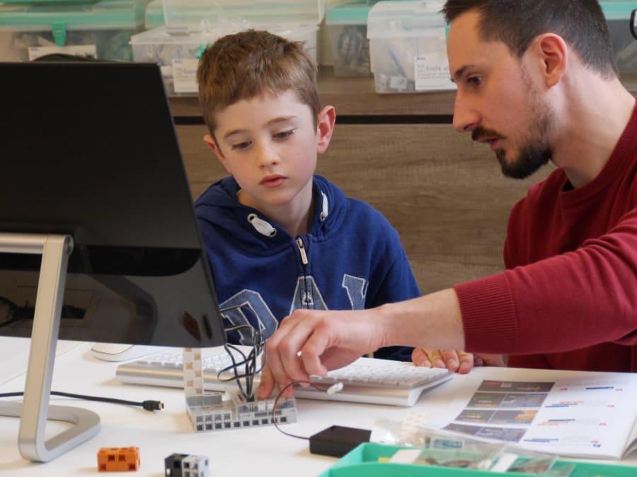 Atelier Découverte Robotique & Codage 7 à 14 ans à Paris 14e