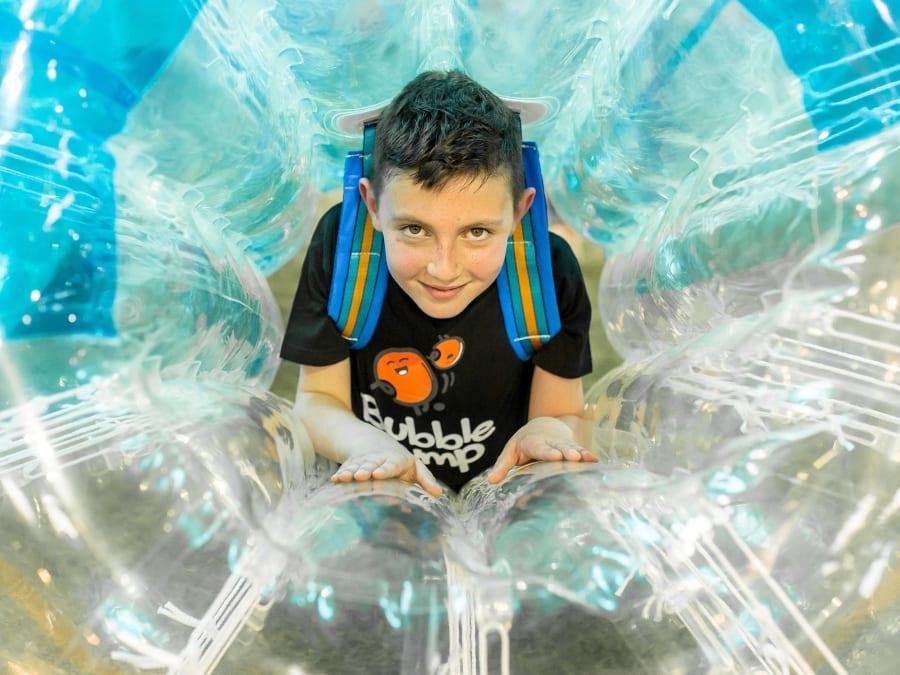 Anniversaire Bubble Foot 7-15 ans à Toulouse Sept Deniers
