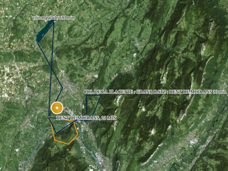 Vol en Hélicoptère en ULM Biplace à Moirans (38)