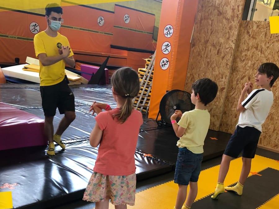 Anniversaire Trampoline Park 4-15 ans à Saint-Etienne (42)