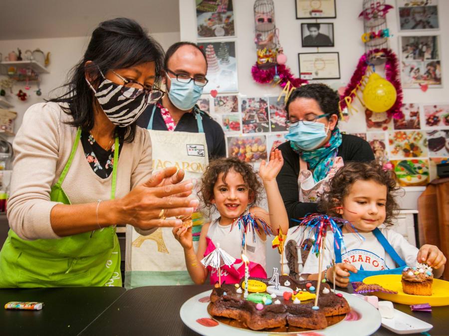 Anniversaire Atelier Macarons BIOS 7-14 ans à Paris 17ème