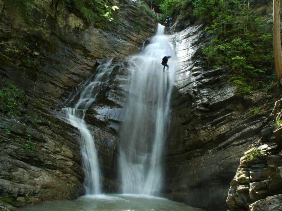 Canyoning au Canyon d'Angon (Talloires - 74)