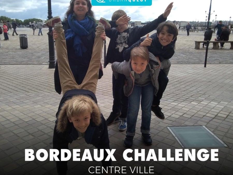 Anniversaire Escape Game urbain connecté à Bordeaux (33)