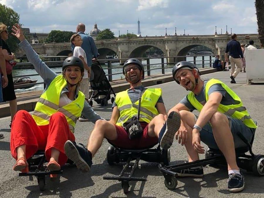 Team Building Balade en Hoverkart sur les Quais de Paris