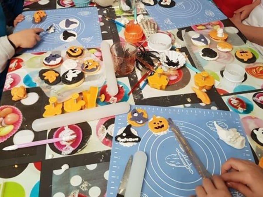 Atelier enfant pâtisserie Halloween Saint-Maur-des-Fossés (94)