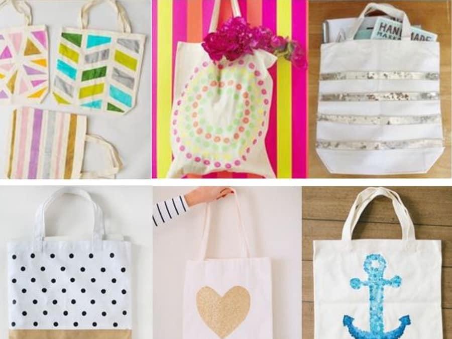 Anniversaire Customisation de Tote Bags à domicile