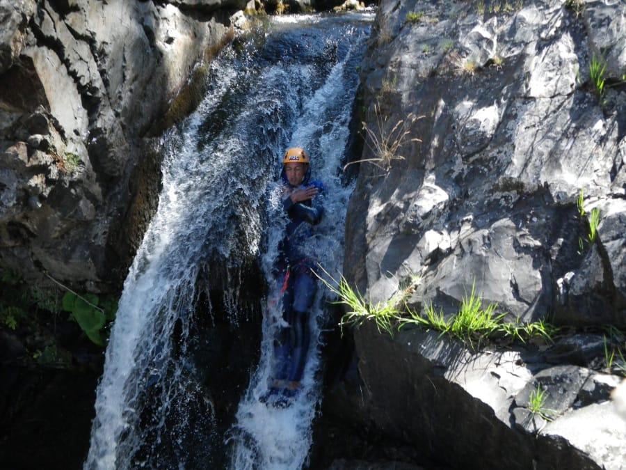 Canyoning & canyon sans corde dans les Cévennes