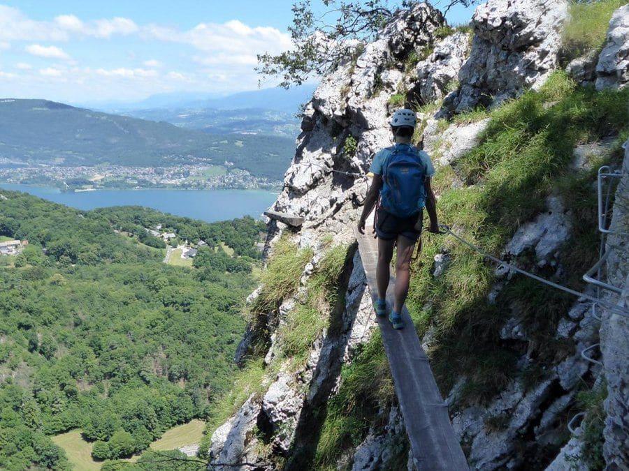Via Ferrata de la Dent du Chat à Chambéry (73)