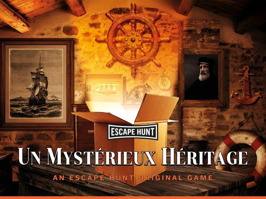 """Escape Game """"Un Mystérieux Héritage"""" proche de Marseille"""