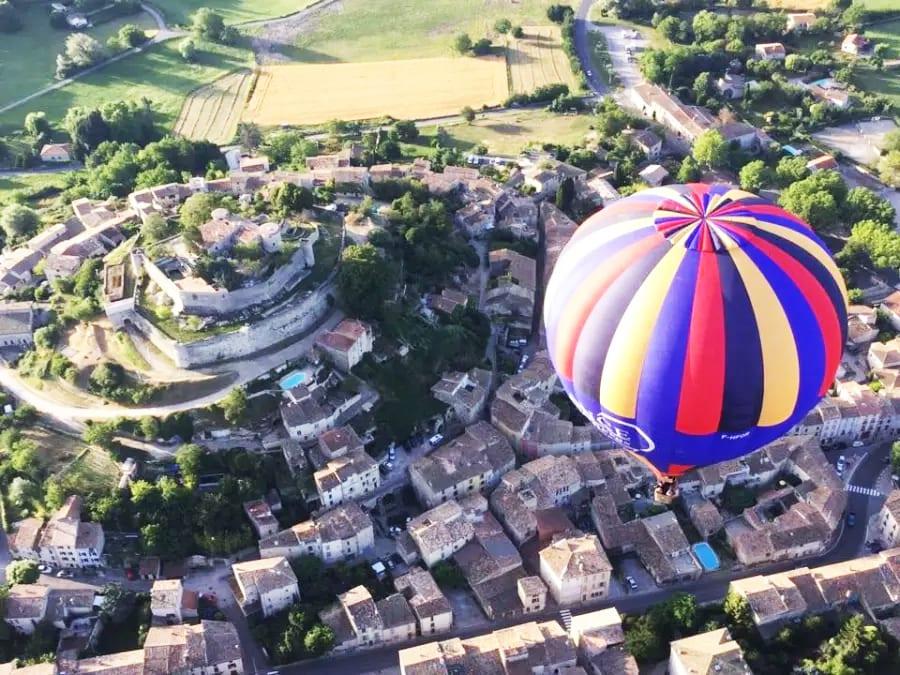 Vol en Montgolfière en Haute Provence à Forcalquier