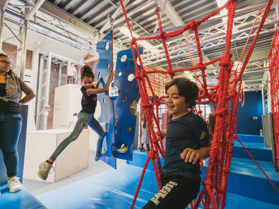 Anniversaire Parcours d'Obstacles Ninja 6-18 ans à Pantin (93)