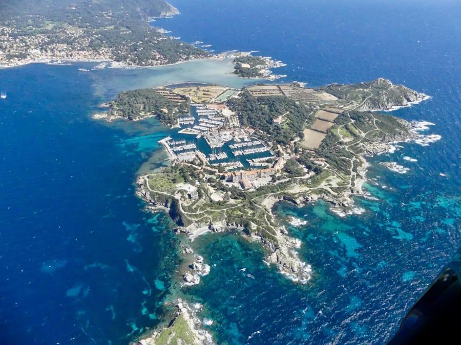 Survol de la Côte d'Azur en ULM Autogire proche de Toulon (83)