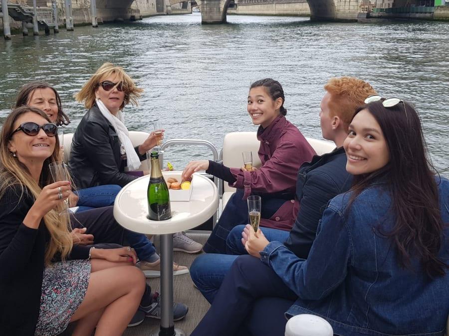 Team Building Balade en Bateau sur la Seine