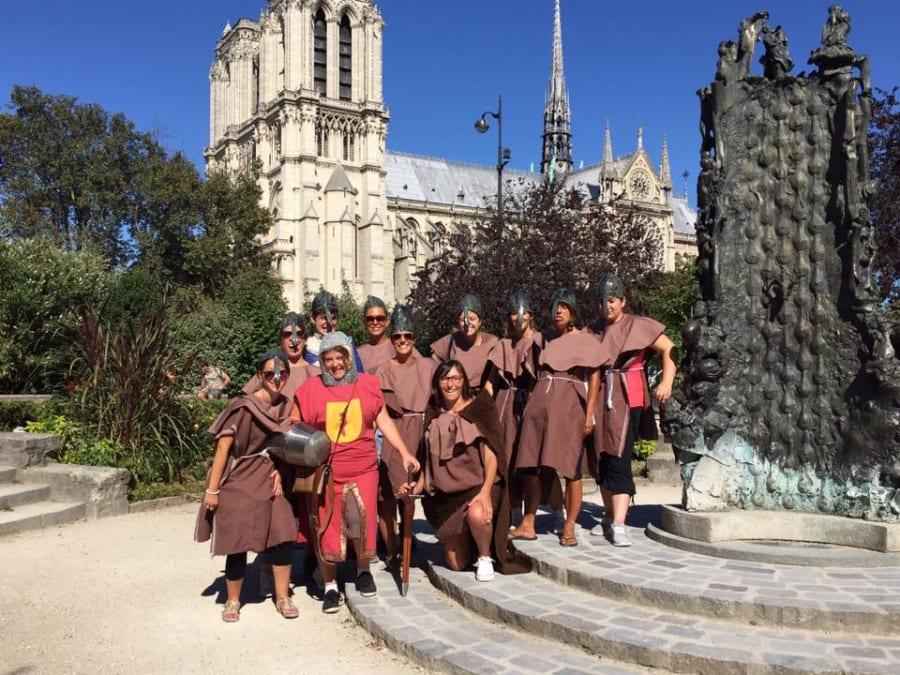 Team Building Médiévale Nomade