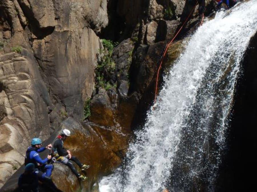 Journée canyoning au canyon de Chassezac, dans les Cévènnes