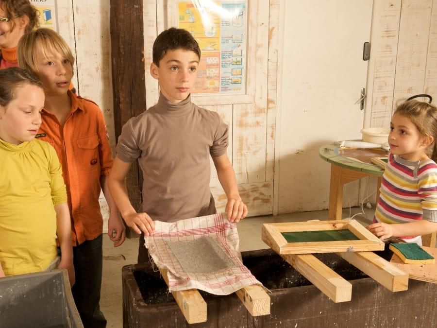 Atelier Papier & animaux  Ferme de Gally (Sartrouville)