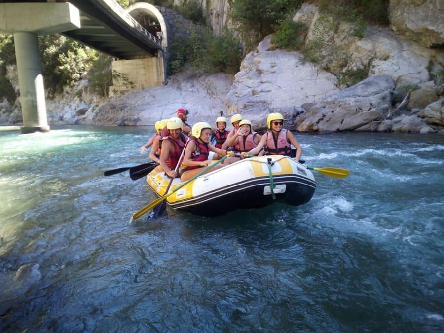 1/2 journée Rafting dans le canyon de la Roya près de Nice (06)