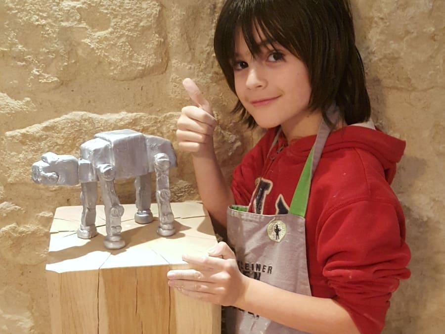 Atelier Modelage & Poterie pour enfants dès 5 ans à Paris 11