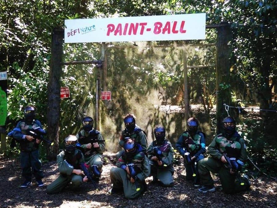 Anniversaire Paintball 9-11 ans à Frossay (44)