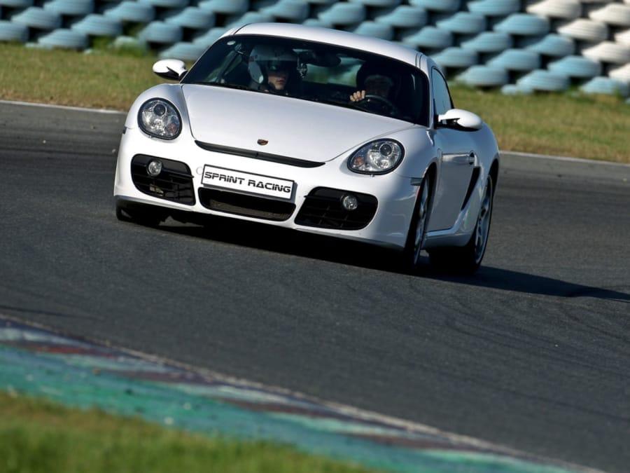 Stage pilotage en Porsche Cayman S 718 Circuit JP Beltoise (78)
