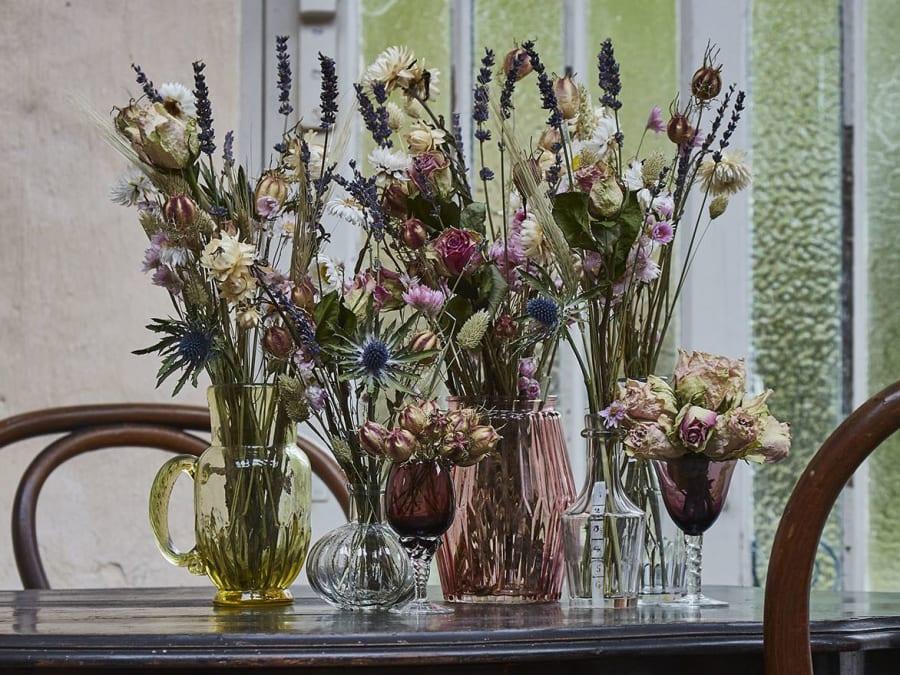 Atelier bouquet de fleurs séchées chez Truffaut Herblay (95)