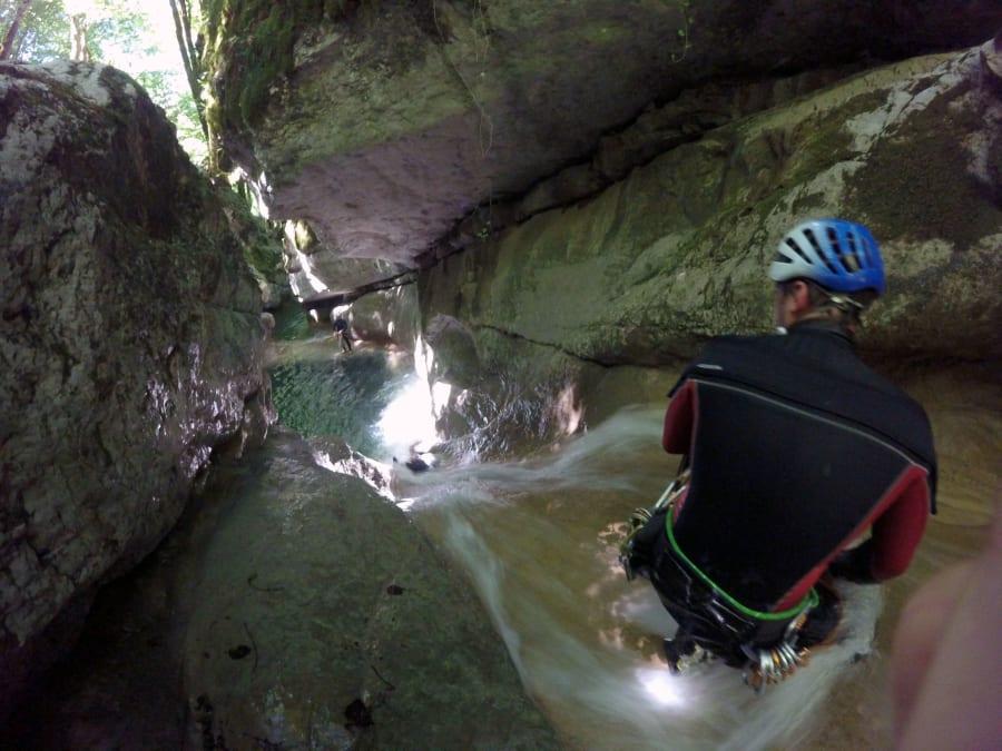 Canyoning de Ternèze sur la Leysse (73)