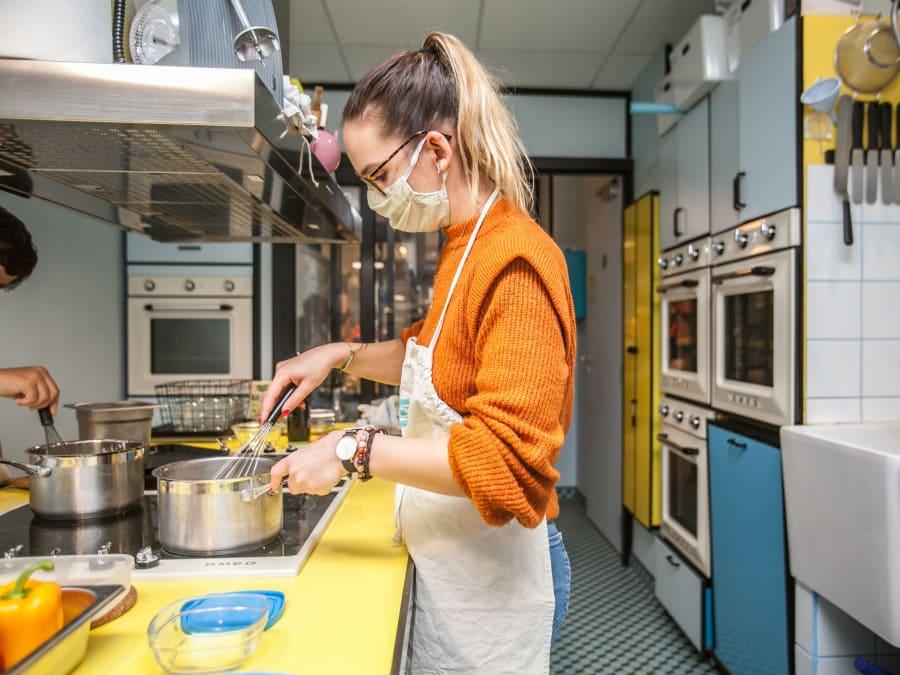 Team Building Cuisine Bio à Paris 11ème