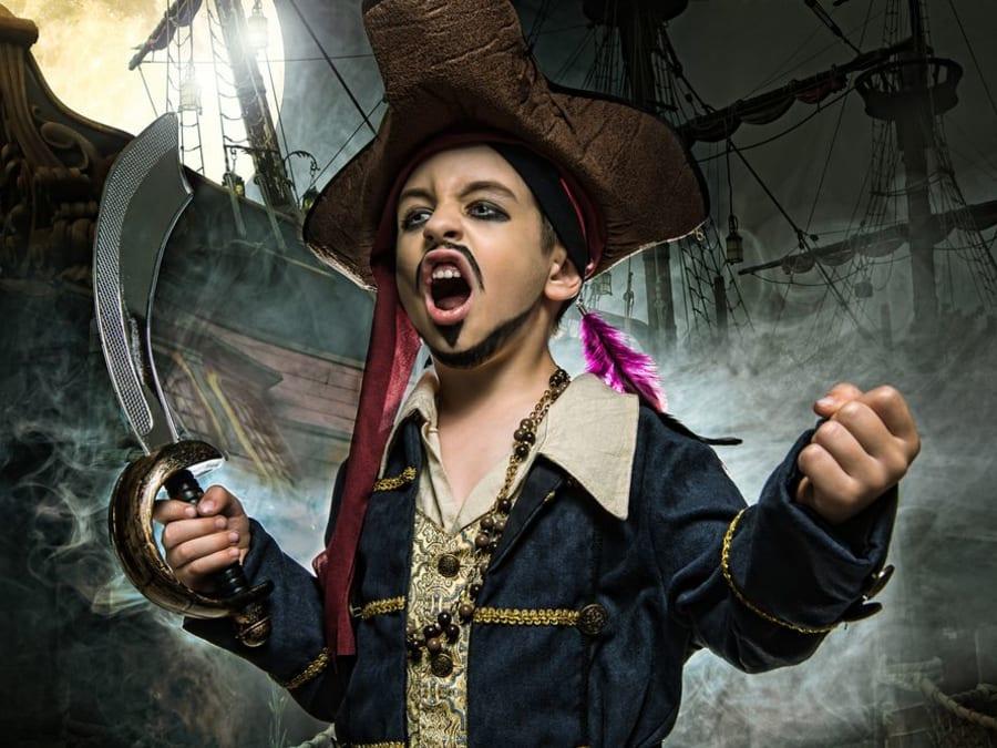 Anniversaire Pirate 3-12 ans en Ligne