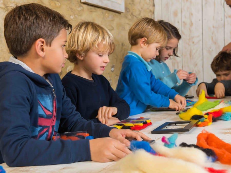 Atelier Laine & animaux  Ferme de Gally (St-Cyr-l'Ecole)