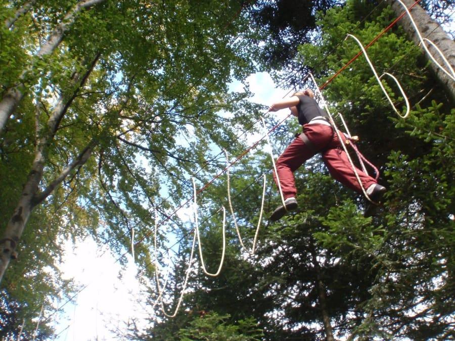 Parc aventure Accrobranche à Saxel (Haute-Savoie - 74)